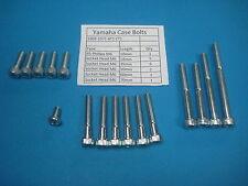 ENGINE COVER BOLTS Yamaha Enduro AT1  CT1  69-71 SOCKET HEAD 125CC 175CC