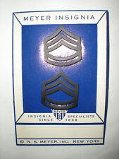 USMC 1950'S GUNNERY SGT GUNNY COLLAR RANK - RARE!