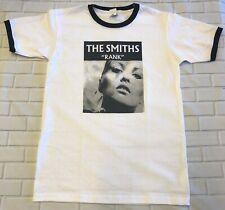 The Smiths Rank 'White & Black'  Ringer T-Shirt