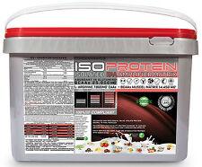 Isolate Matrix Whey Eiweiss Protein 5 kg Pulver Glutamin Aminosäure Muskelaufbau