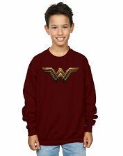 DC Comics Garçon Justice League Movie Wonder Woman Emblem Sweat-Shirt