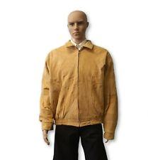 Leather Jacket suede Leather Jacket Medium Unisex Size M, L, 3X