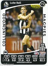 2012 Teamcoach (73) Luke BALL Collingwood