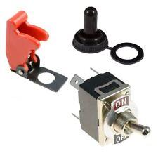 Posición ON-OFF 2 estándar 12mm Interruptor de palanca película DPST + Cubierta