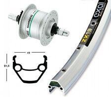 Bike-Parts 26″ Vorderrad Exal ZX 19 + Nabendynamo Shimano DH-C3003