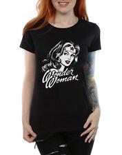 DC Comics Donna Wonder Woman accenno di Rosso T-shirt