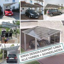 XIMAX Design-Carport Linea ALLE FARBEN + SCHNEELASTEN