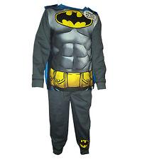 Ragazzi Batman Superman Spiderman Costume novità Pigiama PJ Con Mantello età