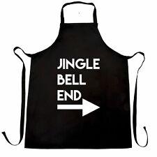Rude Christmas Chef's Apron Jingle Bell End & Arrow Joke Adult Funny Xmas