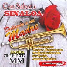 FREE US SHIP. on ANY 2+ CDs! NEW CD Banda Sinaloense Mm: Con Sabor a Sinaloa Ded