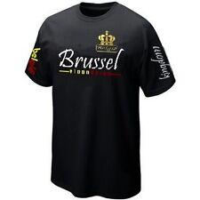 T-Shirt BRUSSEL BRUXELLES VLAANDEREN BELGIË BELGIUM ultras- Maillot Belgique