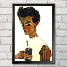 Egon SCHIELE Poster Print A3 + 13 x 19 à - 33 x 48 cm self-ie-portrait