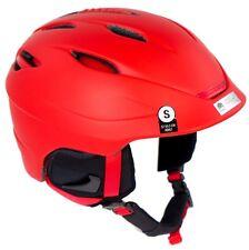 NEW $160 Mens Giro SEAM Red Snowboarding Skiing Helmet Smith Adjustable Small