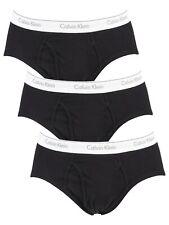 Calvin Klein Men's 3 Pack Briefs, Black