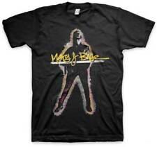Mary J Blige Glow Art Music Hip Hop Rapper Adult Mens T Tee Shirt 37421003