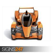 3D CARS 35 (AC970) CAR POSTER - Photo Picture Poster Print Art A0 A1 A2 A3 A4