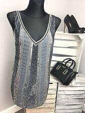 Maya Petite Sequin Shift Dress (AS35/9)