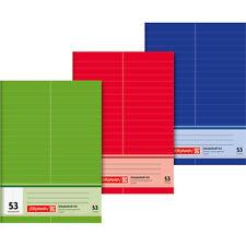 Brunnen Vokabelheft  A6, A5, A4 32 Blatt   2 oder 3 Spalten Notizheft