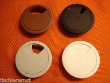 Plástico Cable por dejar PASACABLES Cubierta Del Cable AUS 4 Farben a elección