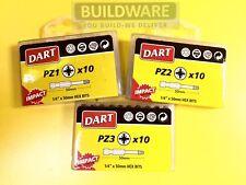 Dart Impact Trox Driver Bits Anti Slip PZ 25mm & 50mm