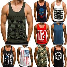 Tanktop T-Shirt Muskelshirt Training Fitness Herren OZONEE BREEZY 171090 MIX