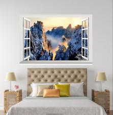 Montaje 3D Blanco Atomizador 168 ventanas abiertas impresión de pared de papel pintado wandbilder AJ Jenny