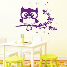 10429 wandtattoo-loft Pegatina pared Eule OWL búho búhos RAMA RAMA