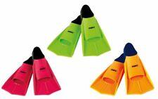Maru Swimming Training Fins Flippers UK 1-1.5 2.5-3 Pink Lime Black Orange Navy