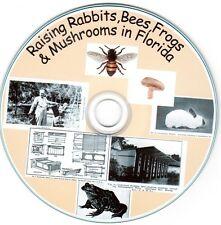 Raising Rabbit,Bees,Frogs & Mushroom in Florida RARE! Backyard Farming TEOTWAWKI