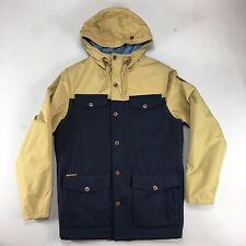 Element Hemlock Wool Jacket in Khaki / Navy Size S.