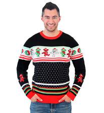 Grateful Dead Dancing Bears Ugly Christmas Sweater