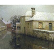 Nemours, Seine-et-Marne, France - H Le Sidaner Print