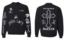 All Eyez On Me 2PAC Tattoo Unisex Tattoo Sweatshirt ( limited edition )