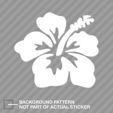 Hibiscus Flower Sticker Decal Vinyl hawaii hawaiian