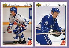 1991-92 Upper Deck Canada Cup Team Finland Team Set