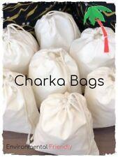 "8"" x 10"" inch 100% Cotton Single Drawstring Pouch Bags . Qty 25, 50, 75, 100"