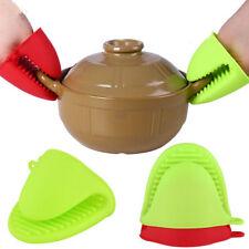 1Pc Kitchen Silicone Heat Resistant Gloves Clips Insulation Non Stick Anti-Slip1