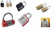 Digit Locker Combination Padlock Gym  Shed Bike Locker Van Tools Garage Cash