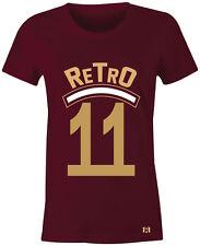 "Retro 11 - Women/Juniors T-Shirt to Match Air Retro 11 ""VELVET"" Maroon Heiress"