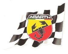 Sticker ABARTH right flag droit