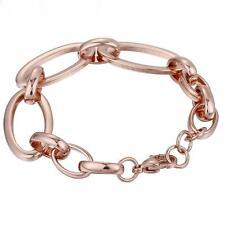 pulsera mujer tendencia 16mm bañado en oro 750 18 Quilates Oro Rosa B2710