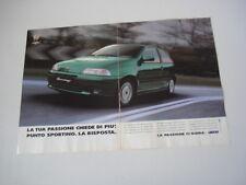 advertising Pubblicità 1995 FIAT PUNTO SPORTING
