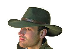 Campbell Cooper Brand New Gentlemans Polo Horse Motor Racing Wool felt Hat Green