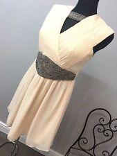 ASOS - Little Mistress Petite Skater Dress Embellished Waist RRP £55 (AS-31/8)