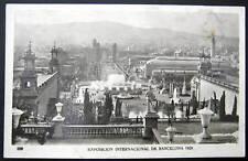 Spain~1929 Barcelona~ Intl Expo~National Palace ~ Rppc