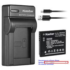 Kastar Battery Slim Charger for Panasonic DMW-BCK7E & Panasonic Lumix DMC-FP5