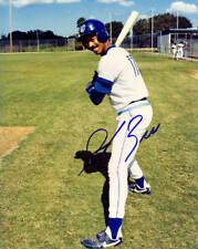 Derek Bell Toronto Blue Jays Signed 8x10 Photo COA