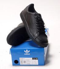 NUOVA linea uomo Adidas Orginals Stan Smith 2 Nuovo con Scatola Scarpe Da Ginnastica Nero Taglia 8 UK