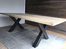 Eiche massiv Holztisch Esstisch Essgruppe Tischset Esszimmer Esstischset Modern