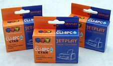 3 Canon Cli8 PHOTO CIANO ridotto in schegge Compatibili Cartucce di inchiostro-UK Venditore